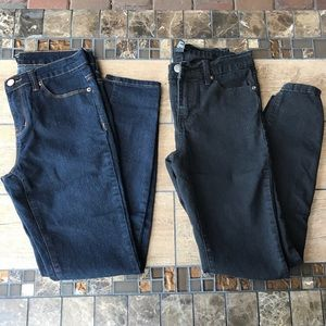 Forever 21 Pants - 2 PAIR FOREVER 21 SKINNY JEANS SIZE 27